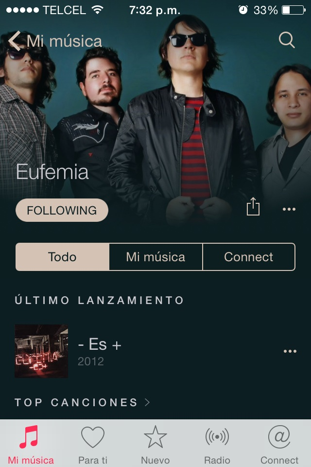 Eufemia Noticias - Ya estamos en Apple Music Connect